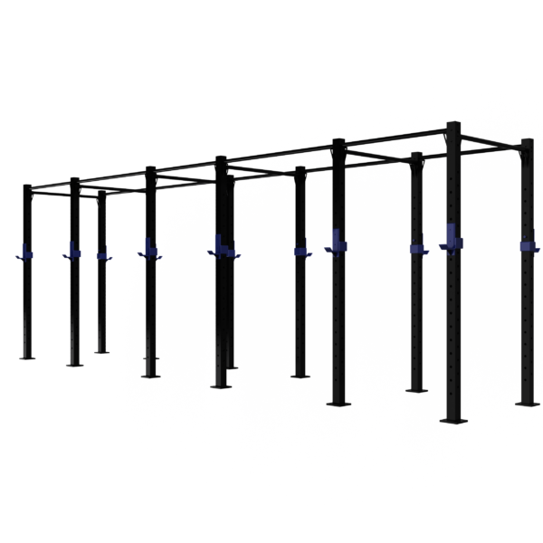 6 Cell free standing commercial rig