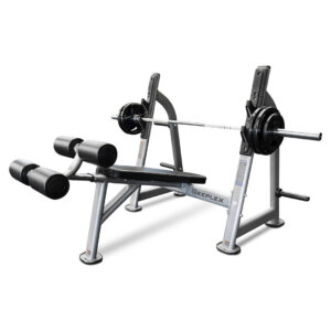Reeplex commercial decline bench press olympic