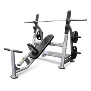 Reeplex commercial incline bench press - Olympic-1