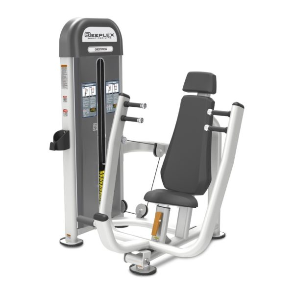 reeplex commercial pin loaded chest press-01