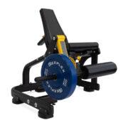 reeplex commercial plate loaded leg extension machine