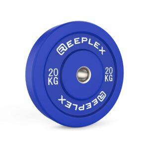 20kg bumper plate reeplex pro coloured bumpers