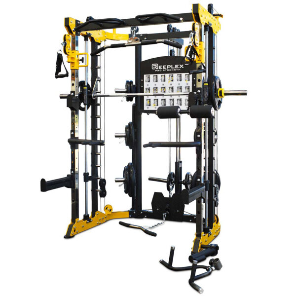 Reeplex CBT-PL Functional trainer smith squat rack - dynamo fitness equipment 2-01-01