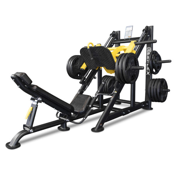 Commercial 45 Degree Leg Press Linear Bearing