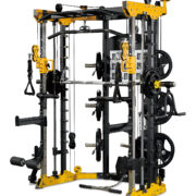 reeplex CBT-PL Functional trainer with smith machine Row and Attachments 3-01