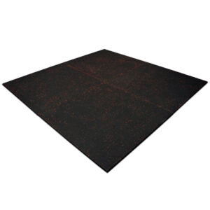 Rubber Gym Tiles Red Fleck
