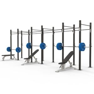 Reeplex commercial 6 squat cell rig freestanding