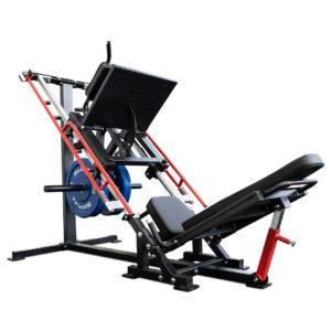 Reeplex leg press hack squat machine