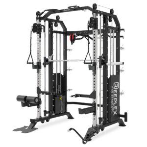 Reeplex CX2 funcitonal trainer 90kg steel weight stack
