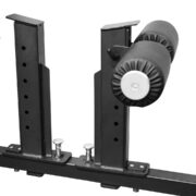 storage for spotter arms