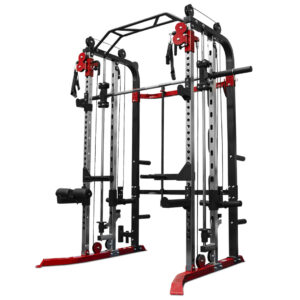 functional trainer with smith machine and squat rack