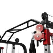 functional trainer adjustable pulleys
